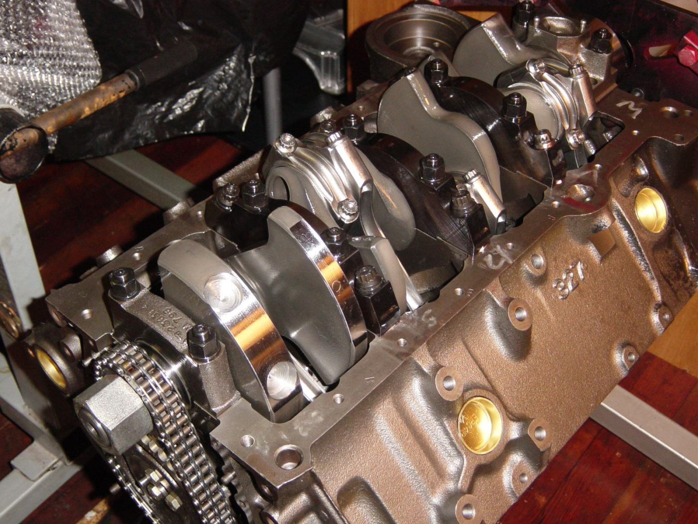 ellwein engines ere 383 20 with custom ross blower pistons. Black Bedroom Furniture Sets. Home Design Ideas